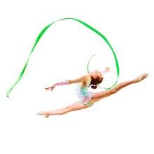 Twirling streamer гимнастике художественной центр род балета взрослые искусства лента танец