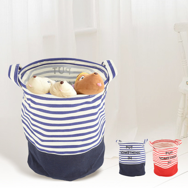Foldable Fabric Storage Basket Toys Home Storage Bag Laundry Basket Patterns  Laundry Basket Dirty Clothes Storage