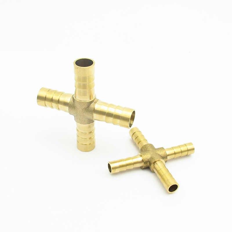 4mm 5mm 6mm 8mm 10mm 12mm 14mm 16mm 19mm 25mm króciec do węża mosiądz kolczasty prosty kolanko Tee Y 2 3 4 Way łącznik do montażu rur