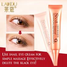 Snail Repair Eye Cream Essence Moisturizer Natural Anti-Aging Anti-Puffiness Wrinkle And Dark Circle Cream Skin Care 30g LAIKOU