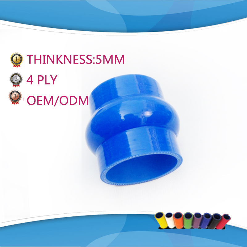 114mm 4ply Silicone Straight Reducer Coupler Hose Coupling 102mm 4-4 1//2