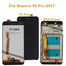 "5.0"" original display For Huawei Y6 Pro 2017 SLA-L02 SLA-L22 SLA-TL00 LCD + touch screen digitizer Assembly phone repair kit"