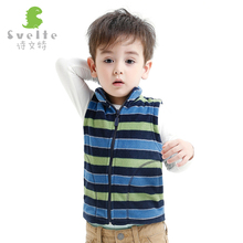 2016 winter children's clothing boys selling high quality multi-color vest style waistcoat warm wool coat children fashion vest