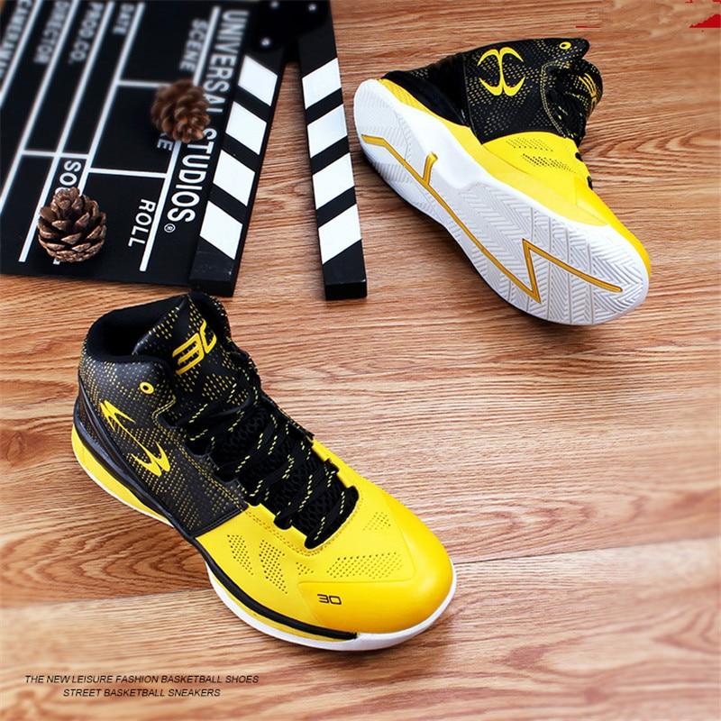 Детская Баскетбольная обувь; Новинка; детская обувь; высокие ботинки; износостойкая нескользящая обувь; B076