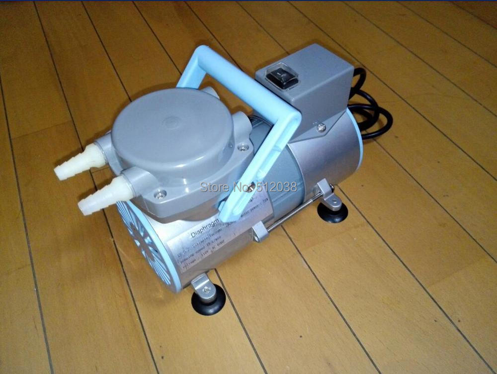 New XM-0.20  oil free Laboratory Diaphragm Vacuum Pump 15 L/min  (110V/220V) manka care 110v 220v ac 50l min 165w small electric piston vacuum pump silent pumps oil less oil free compressing pump