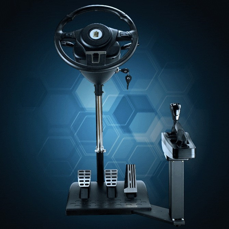 Special Car Driving Simulator Training Machine Drive School Learning Driver's License Steering Computer Usb Game Steering Wheel