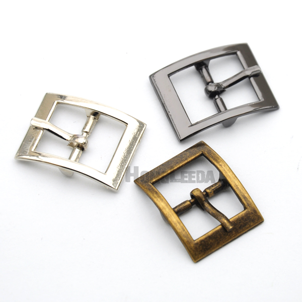 Wholesale 30pcs/lot <font><b>15mm</b></font> metal <font><b>buckle</b></font> with pin alloy belt <font><b>buckle</b></font> shoe <font><b>buckle</b></font> nickle/black/bronze free shipping BK-044 image