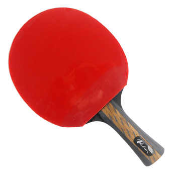Palio TCT Table Tennis Blade with Galaxy YINHE Sun / Moon Rubber with Sponge Long shakehand FL