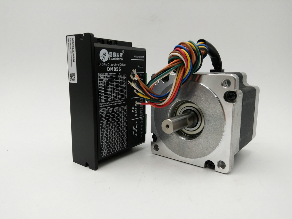 2phase China Stepper motor Drive kits 86HS45+DM856 NEMA34 86mm 637ozin 4.5NM 18-80VDC NEW zildjian 18 zbt china