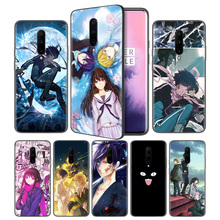Noragami Anime Soft Black Silicone Case Cover for OnePlus 6 6T 7 Pro 5G Ultra-thin TPU Phone Back Protective