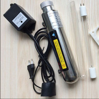 UV Water Sterilizer Ultraviolet Tube Lamp Direct Drink Water Disinfection Treatment Filter Aquarium Fish Tank Purifier 12W|Water Filters| |  -