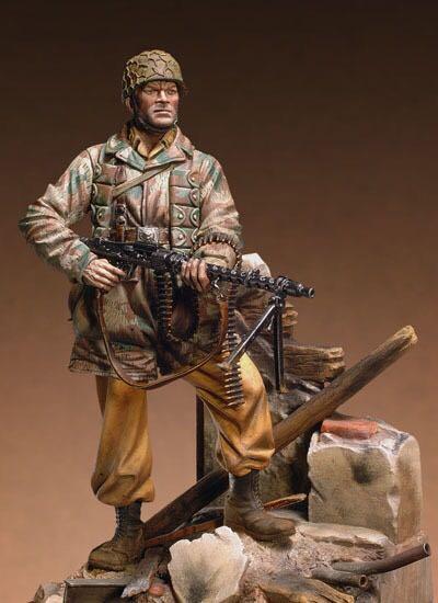 Figuras de resina 116, kits de modelos, soldados de 90mm sin pintar y sin montar 16109D