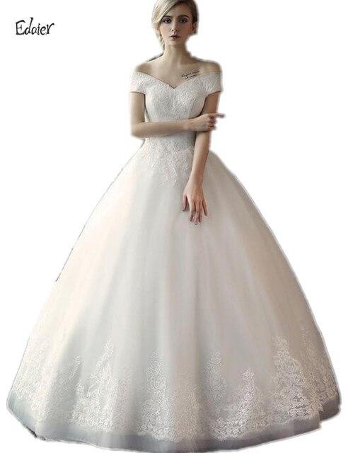 2017 Full Length Custom Made Luxurious Corset Ball Gown Wedding ...