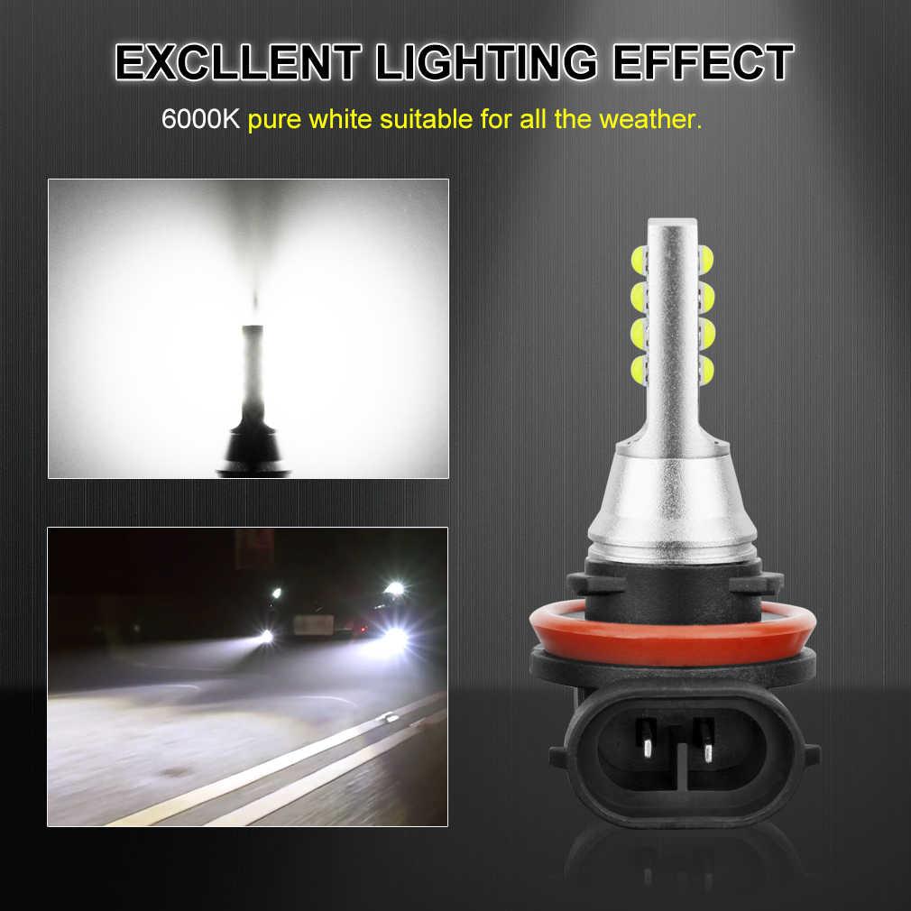 2Pcs H8 H11 LED 9005 HB3 9006 HB4 H27 Led Bulb 880 881 P13W PSX26W H16 5202 PSX24W H27W Car Fog Lights Automobiles Auto Lamp
