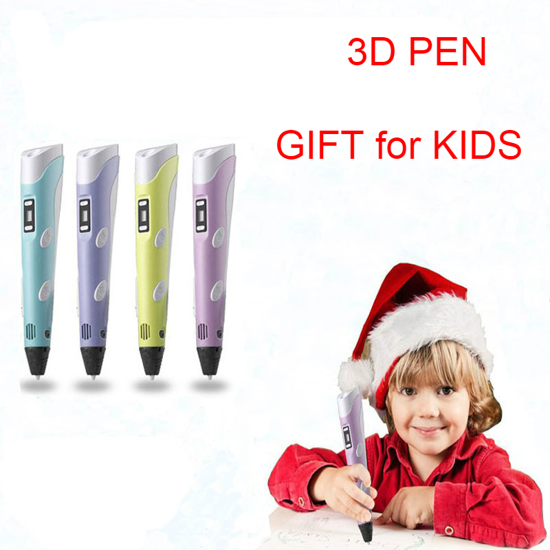 3D Pen Creative Drawing Toys For Children Plastic Creativity Arts Crafts Kids Painting Educational Christmas Pencil Gifts Adult