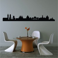 Madrid Spain Famous Landmarks Removable Wall Decor Decal Sticker Fashion Free Shipping Poster