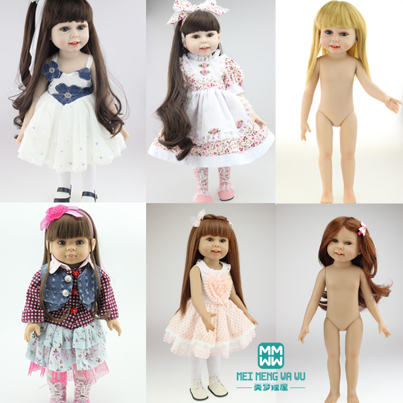 2016 New 45cm high quality reborn dolls/ baby SD / BJD emulation Baby American Girl \Princess Dress Up Send their children gifts high quality hand made chinese tang imperial concubine xiao beauty doll 12 jointed bjd 1 6 dolls toys girl gifts collection