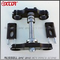 Universal Aluminum Handlebar triple clamp Bar Riser 22mm 45/48 240L for Front Fork 22mm handlebar dirt pit bike