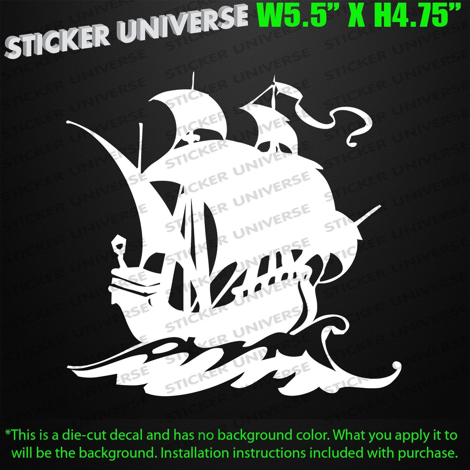 "US sailing sticker decal 5/"" X 4/"""