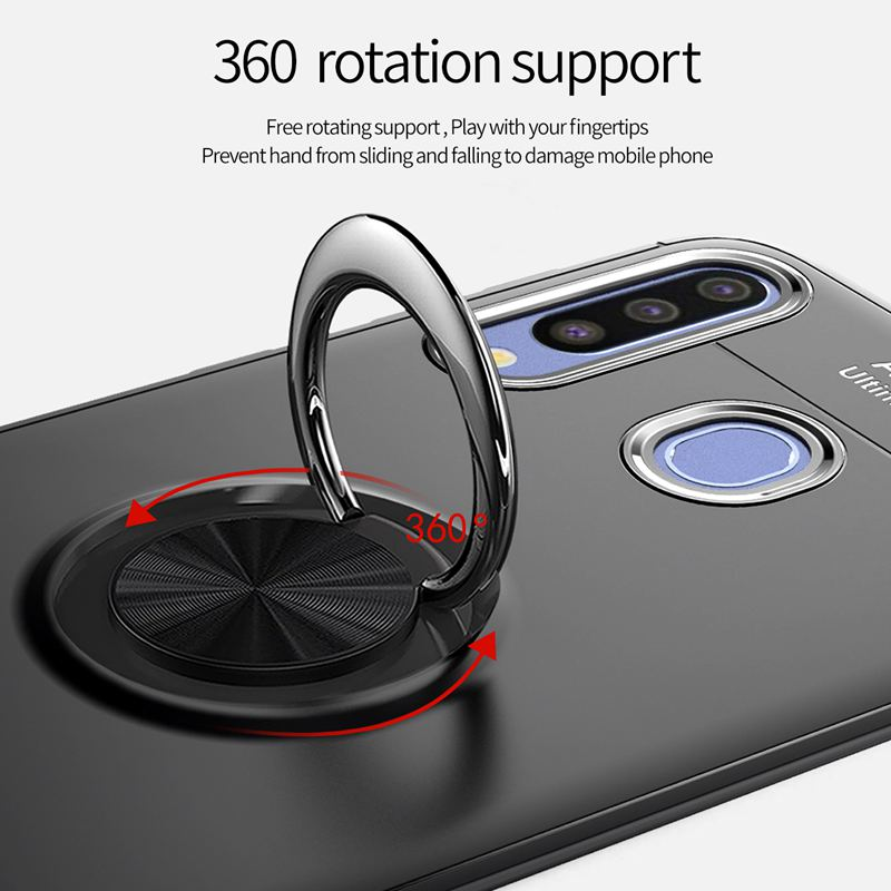 Image 4 - Magnet Ring Case For Samsung Note 10 A10 A30 A20 A50 A70 Shockproof Cover On Samsung j3 j5 j7 pro 2017 s10 lite plus Note10 pro-in Fitted Cases from Cellphones & Telecommunications