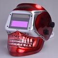 Nueva pantalla Grande de 2 Sensores de oscurecimiento auto solar casco de soldadura TIG tapas de soldadura MIG MAG soldadura soldadura capucha sombreros cabeza máscara de Calavera