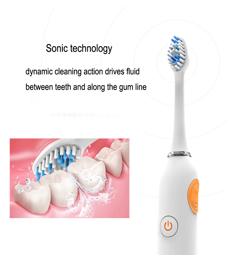 The Best Sonic Electric Toothbrushes Rechargeable battery toothbrush Pro Model pcs per
