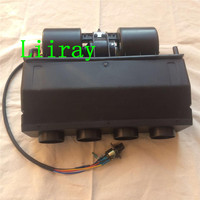 Universal 404 BEU 000 4 Hole A/C WARMING Evaporator Assembly Unit Air Conditioner & Heater 24V 12V for bus truck car heavy duty