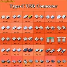 30 modèles femelle type c USB 3.1 Type C câble de données connecteur Port pour Moto XT1662 Letv LG Xiaomi 5 plus 4C Meizu Gionee