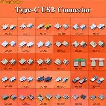Cable conector hembra tipo C USB 3,1 tipo C 30 modelos para Moto XT1662 Letv LG Xiaomi 5 plus 4C Meizu Gionee