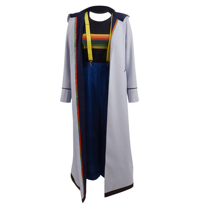 Doctor Who 13 Cosplay Costume Jodie Whittaker Coat outwear ...