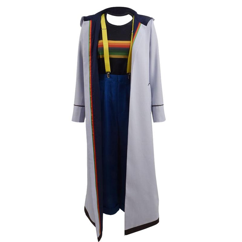 Doktor Kim 13 Cosplay Costume Jodie Whittaker Palto məşhur geyim - Karnaval kostyumlar - Fotoqrafiya 3