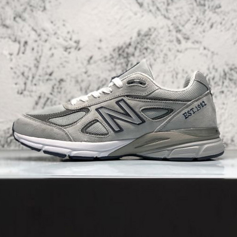 NEW BALANCE NB 990 V4 Summer zapatillas hombre deportiva Couple Damping Shoes Classic Style Mesh Vamp Sneakers