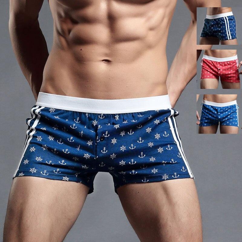erkek iç çamaşırı pamuk seksi erkek boxer ml XL XXL ev şort adam