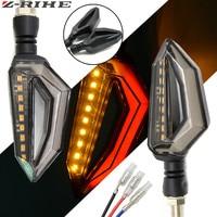 LED Steering Light Flashing Headlight 12Led Indicator Light Blinker Lamp Turn Light Motorcycle Parts 2pcs Motorcycle Accessories|  -