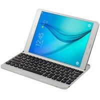 Original Aluminum Alloy Bluetooth Keyboard Cover For Samsung GALAXY Tab A 9 7 T550 T555C