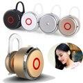 Frete Grátis New Elegante Estéreo Super Mini Simples 007 Bluetooth V4.0 Mãos Livres Fones De Ouvido Intra-auriculares Fones de Ouvido