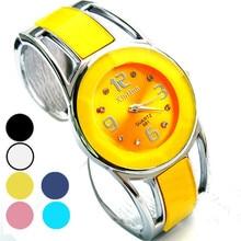 Fress shipping gift for friend Women's Bracelet Watches Alloy Band Quartz Analog Wrist Watch montre femme relogios wholesale