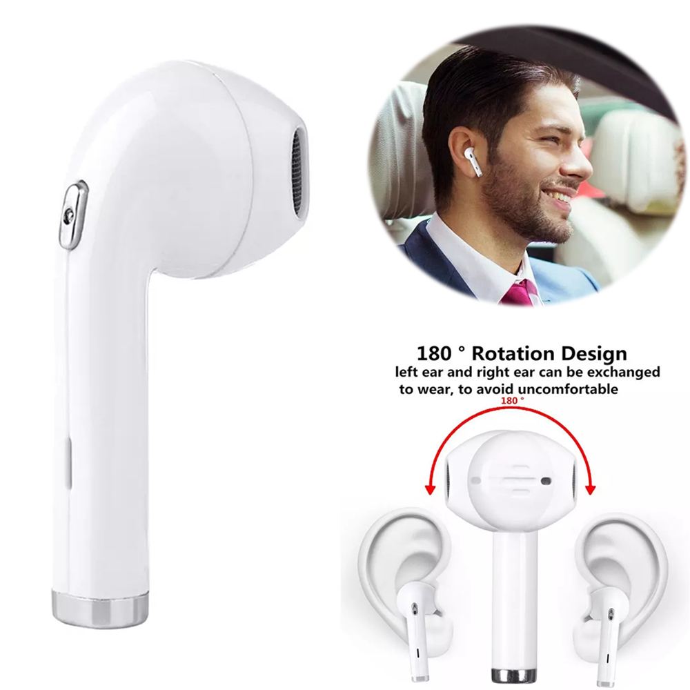 Mini i8s Earphone In Ear i7 TWS Earbuds Wireless BHT i8 Headphone Stereo i8L Headset With Mic Earplug i7 Auriculares For iPhone