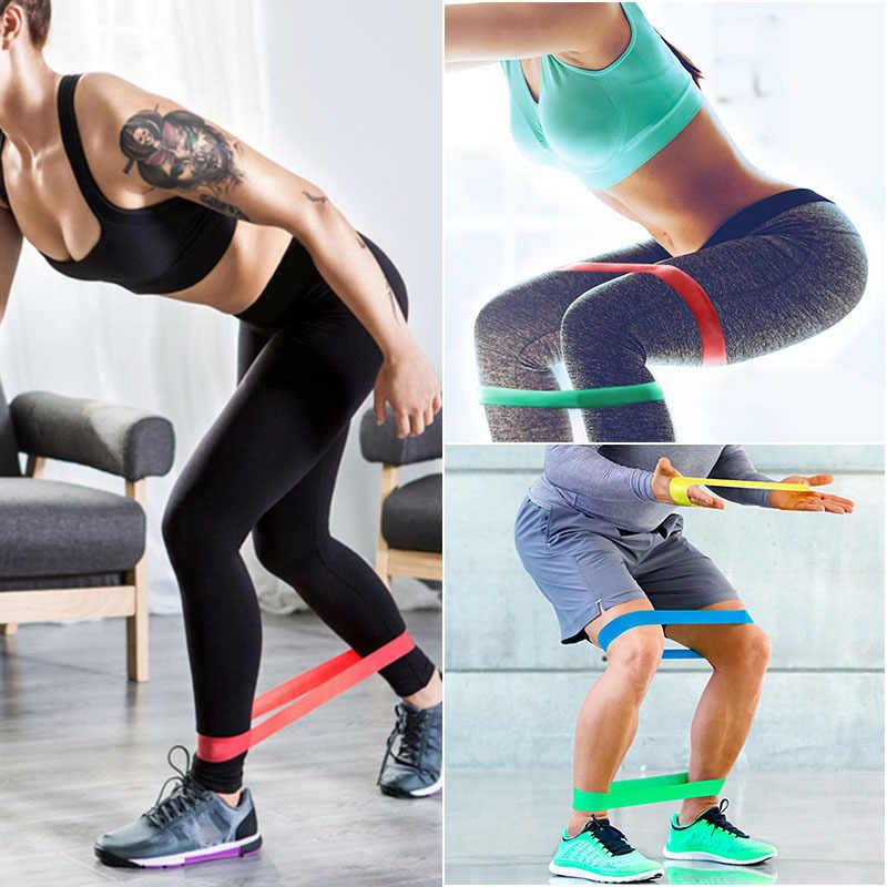 Zespoły oporu gumka trening sprzęt do fitnessu gumki recepturki lateksowe joga siłownia trening siłowy sportowe opaski gumowe