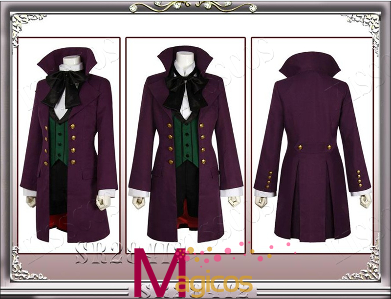 Black Butler Season 2 Earl Alois Trancy Uniforme Cosplay fiesta de - Disfraces - foto 1