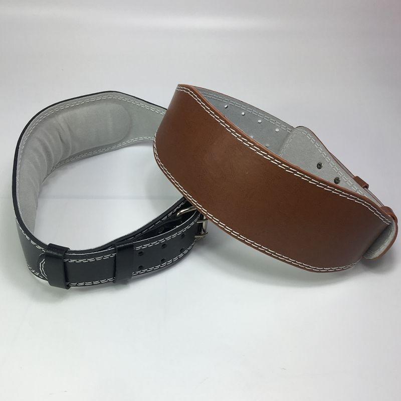 Powerlifting, FANKUNYIZHOUSHI Weight Lifting Belts XL Gym Cross-Training Adjustable Leather Weightlifting Belt Powerlifting Protection for Back and Core Workouts