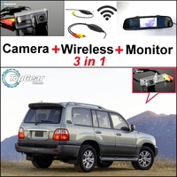 3 In1 Special Rear View Wifi Camera Wireless Receiver Mirror Monitor Easy DIY Parking System For