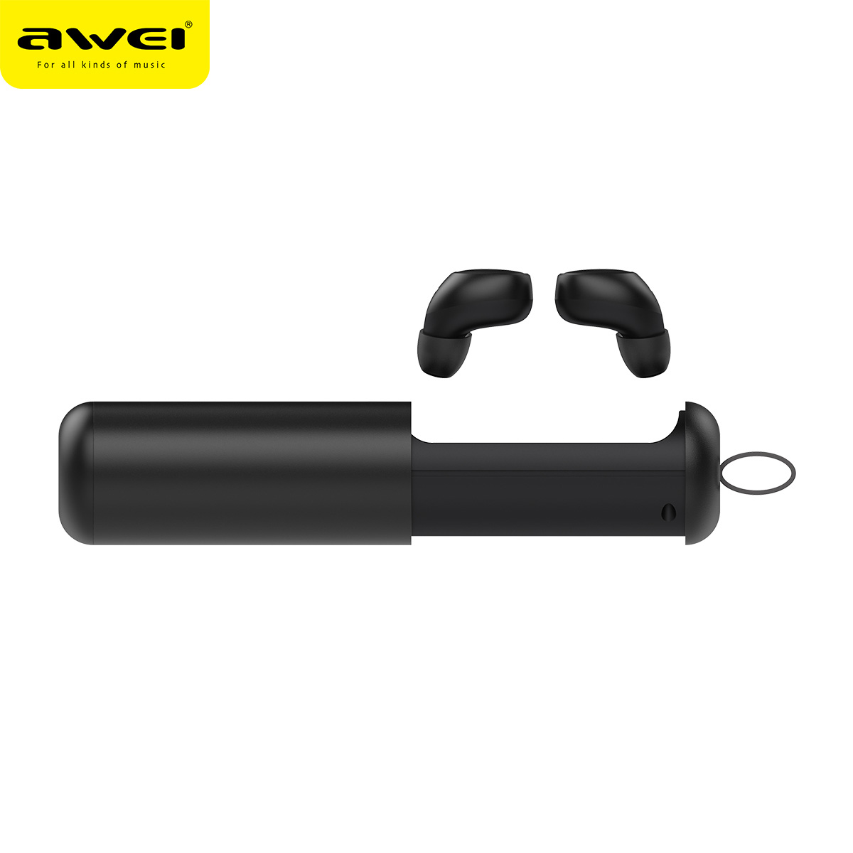 AWEI T5 TWS business Bluetooth earphones wireless HD stereo headphones headset charge box with microphone Bluetooth V5.0 awei t8 tws business bluetooth earphones wireless 3d stereo earphones headset power bank with microphone handsfree calls