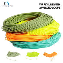 Maximumcatch 1/2/3/4/5/6/7/8wt Weight Forward Fly Line 100FT Floating Fly Fishing Line With Welded Loop Multi Color