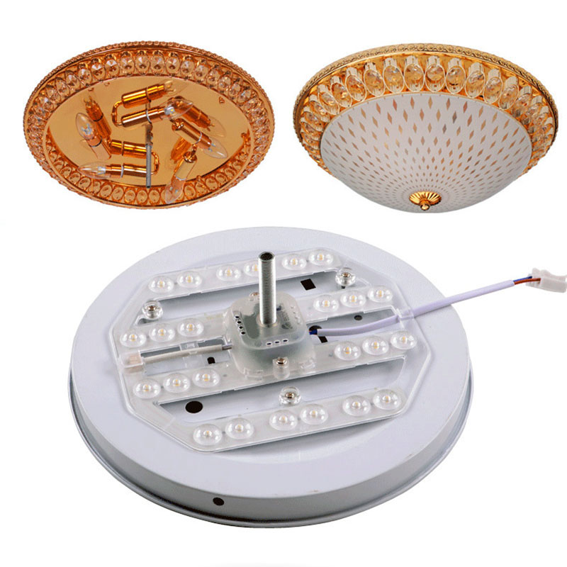BEYLSION NEW LED Light Panel Ceiling Lamp Source 24W 38W 50W Lampada Module Lamp Energy Saving LED Board Panel Circular Light  (15)