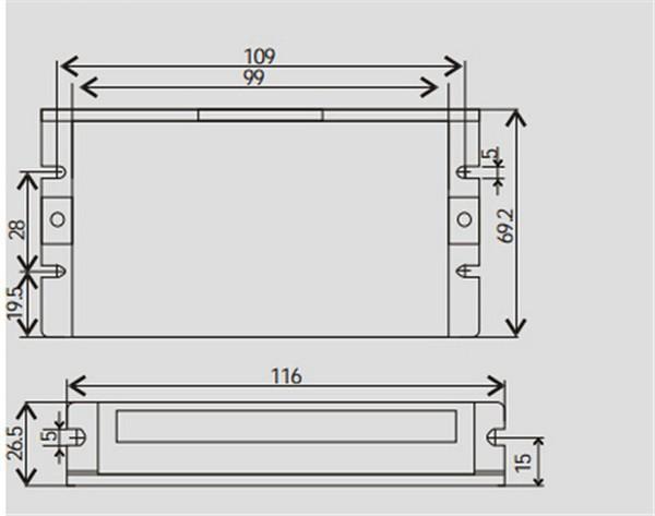 DCS810+DCM50202-02D-1000-DCS810-Dimension