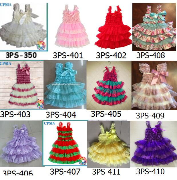 48aa0c0c7 Ivory one year baby party dresses Chiffon Lace Ruffled Petti baby ...
