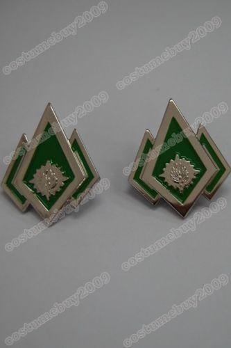 Battlestar Galactica Master Chef Petty Officer Pip Set Of 2 For Costume Badge