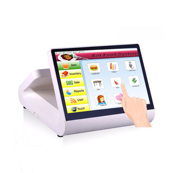 12 inch touch pos system all in one pc Cheap pos terminal cash register for coffee shop