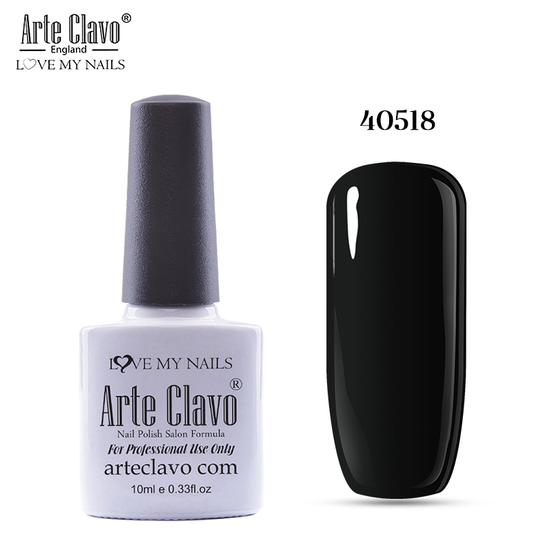 Arte Clavo Gel Nail Polish 79 Colors Any One Color 10ml Soak Off Gel ...